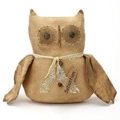 Doll Owl - Country Rustic Doll Primitive Sebastian $21.99