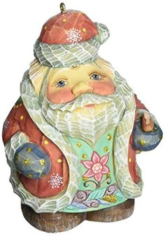 G Debrekht Spring Butterfly Santa Figurine Ornament >>> Want additional info? Click on the image.