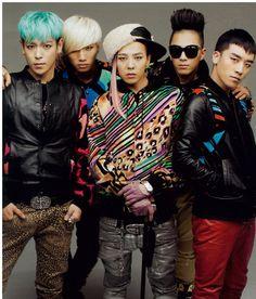 BIGBANG- Oh TOP, I love a man in animal print pants.