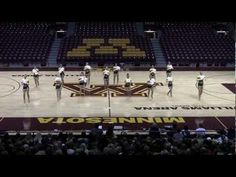 NDSU Bison Dance Team at the UofM Best of the Best Show 2013 - 1st at UDA Nationals in the D1 Pom Category
