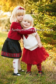 Holiday photo sessions for families and children at the Tree Farm By Funky Monkey Photography Madison WI