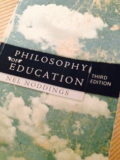Philosophy of Education, Nel Noddings