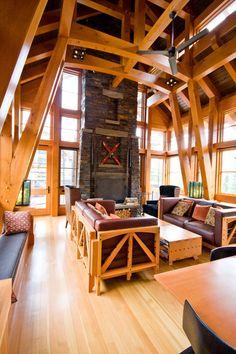 465 Rustic Style Living Room Designs | FurnitureX.net