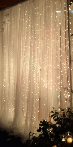 Booth / Backdrop with String Lights Ideas – j i s s y j e s s y . c o mPhoto Booth / Backdrop with String Lights Ideas – j i s s y j e s s y . c o m Grey Tulle Wedding Backdrop For Reception Romantic Full Gray Change purple to maroon and grey x String Lights Outdoor, Outdoor Lighting, Lighting Ideas, Prom Decor, Wedding Decorations, Quinceanera Decorations, Photo Booth Background, Backdrop Background, Diy Photo Booth