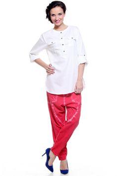 Fashion My Day : White Cargo Shirt