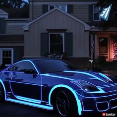 Paint with light tevhnology – Special picks – Super Autos Luxury Sports Cars, New Luxury Cars, Sport Cars, Carros Lamborghini, Lamborghini Cars, Dream Cars, Car Paint Jobs, Datsun 240z, Futuristic Cars