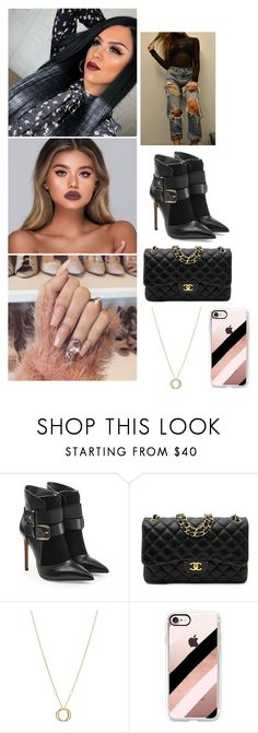 """Shameless"" by paukar ❤ liked on Polyvore featuring Balmain, Chanel, Charriol and Casetify"