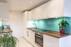 Küchenrenovierung - neue Fronten, neue Kuechenrueckwand - Fliesenspiegel