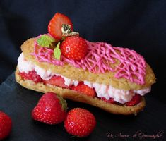 Eclair à la fraise