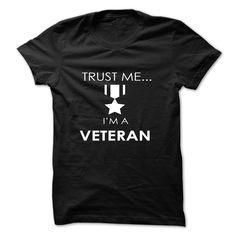 trust me i am a veteran T Shirt, Hoodie, Sweatshirts - teeshirt dress #teeshirt #style