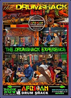 DRUMSHACK  EXPERIENCE GROUP DRUMMING 03 Meeting Place, Happy Holidays, Drums, Musicals, Comic Books, Group, Comics, Drum Sets, Comic Book