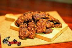 BEEF SNAX - Wheat and Gluten Free Did you know? Beef is a unique, special food. It offers a vast array of vitamins, minerals and protein, all essential for your dog's healthy diet. Some of the impo. Puppy Treats, Diy Dog Treats, Dog Treat Recipes, Dog Food Recipes, Tandoori Chicken, Healthy Choices, Yummy Food, Delicious Recipes, Beef