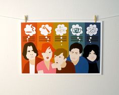 Dial M for Michele Breakfast Club print $10.00