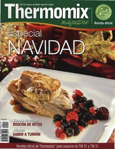 Thermomix magazine nº Especial Navidad Lunch Recipes, Mexican Food Recipes, Cooking Recipes, Christmas Morning, Xmas, Food N, Beef, Slow Cooker, Breakfast