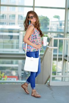Southern Curls & Pearls: Neon Casual