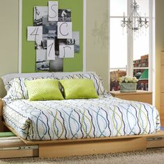 South Shore South Shore Copley Collection Queen Platform Bed with Storage Drawers - 3013-217