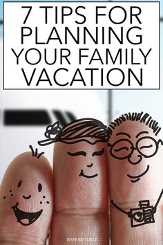 Doing your vacation planning? Follow these 7 tips to get organized and plan the best trip ever!  Everything you need from budget to checklist to an awesome trip planner. Don't leave home without it!