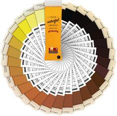 Beer meets Pantone restaurant menu w/ Beertone - enjoy the color of your beer