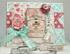 Lovely card from The Shabby Tea Room blog