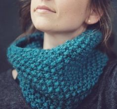 Easy Squishy Cowl