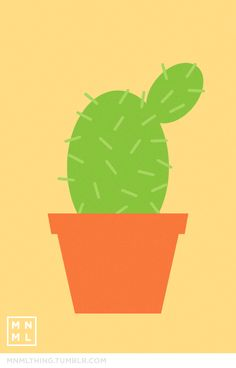 MNML THING #7 Cactus http://mnmlthing.tumblr.com