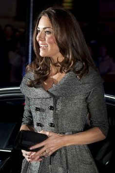 Kate Middleton at London's National Portrait Gallery