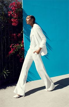Clean White... Tildon 'Risa' Sandal | @Nordstrom #nordstromsavvy