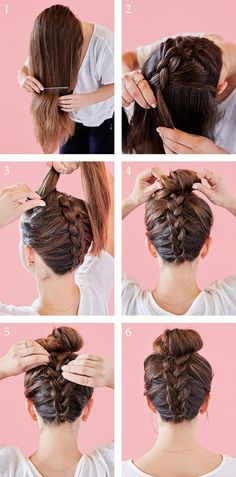 How To Create The Perfect Braided Top Knot