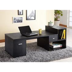 black floor desk ( modular )