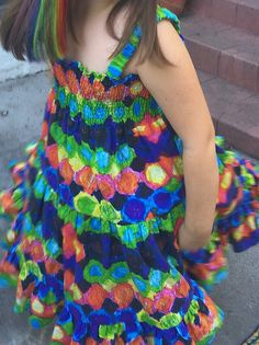 DIY FYI: Make a dress out of your child's artwork.