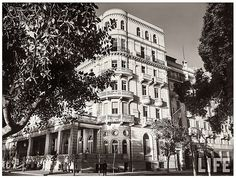 An Imposing Building In Cairo - Semiramis  Hotel In July 1940