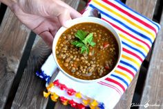 Lentils the moroccan way - cook in colour. Couscous, Palak Paneer, Lentils, Cooking Recipes, Vegetables, Ethnic Recipes, Moroccan, Food Ideas, Silhouette