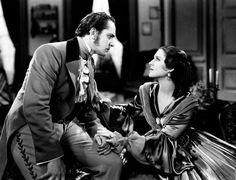 Fredric March Norma Shearer The Barretts of Wimpole Street (1934)
