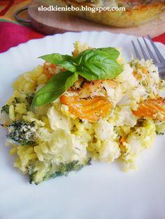Słodkie niebo: Zapiekanka ryżowo-warzywna - bez glutenu i bez jajek