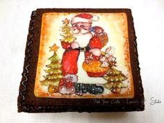 Christmas shortcrust pastry gift box