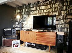 When I have a house with bookshelves like this, @Beth Smith and Allison Moore are going to come ogle my walls.