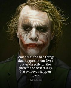 Sometimes the bad things that happen in our lives put us directly on the  path to the best things that will ever happen  to us. . . #quotes