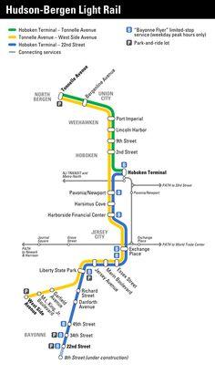 Image from http://upload.wikimedia.org/wikipedia/en/2/22/Hudson-Bergen_Light_Rail_map.png.