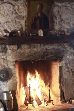 My Rumford fireplace