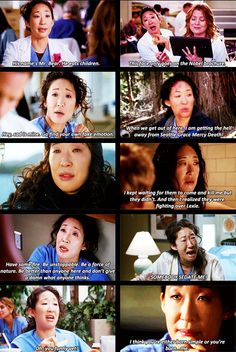 The many faces of Yang...love her counterpart with Meredith!