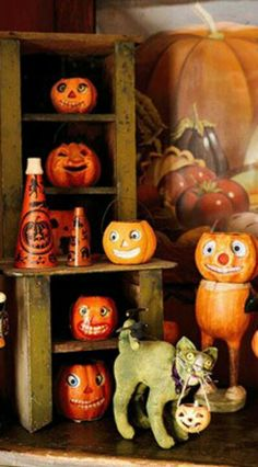 some of magpie ethels amazing vintage halloween decorations halloween pinterest vintage halloween and vintage halloween decorations