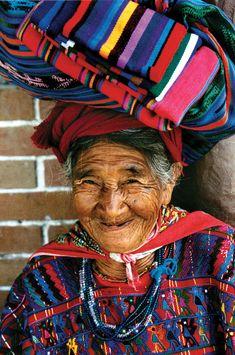 Rug vendor in Guatemala. Photo by Hayley Anderson
