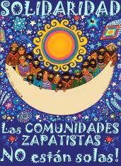 """Caravana """"Vamos a abrazar a la familia del Votán Galeano, vamos a abrazar al pueblo zapatista"""""""