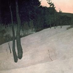 Winter Evening, Russell Chatham: A Landscape Artist with a Hunter's Eye | Field & Stream