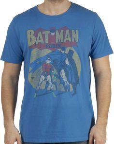 Sheldons Batman and Robin Shirt