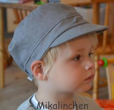Baby Hut, Crazy Hats, Fabric Stamping, Grey Stone, Hat Making, Sewing Patterns Free, Baby Kids, Kid Stuff, David