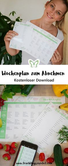 Kostenloser Wochenplan zum Abnehmen – vegetarisch Get my free weekly plan for printing now. weight loss weekly plan – this time in the vegetarian version. With daily 1600 calories and protein. The right shopping list is directly available. Weight Loss Detox, Diet Plans To Lose Weight, Healthy Weight Loss, How To Lose Weight Fast, Loose Weight, Healthy Diet Plans, Healthy Life, Free Diet Plans, Vegetarian