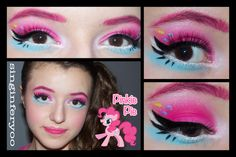 pinkie pie makeup | ... ) inspired by Pinkie Pie from My Little Pony: Friendship Is Magic