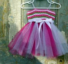 Free Crochet Pattern- Tulips and Tulle Dress