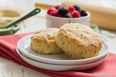 The Year I Learn to Bake: Savory Ham and Cheese Scones | Salty Sweet Life
